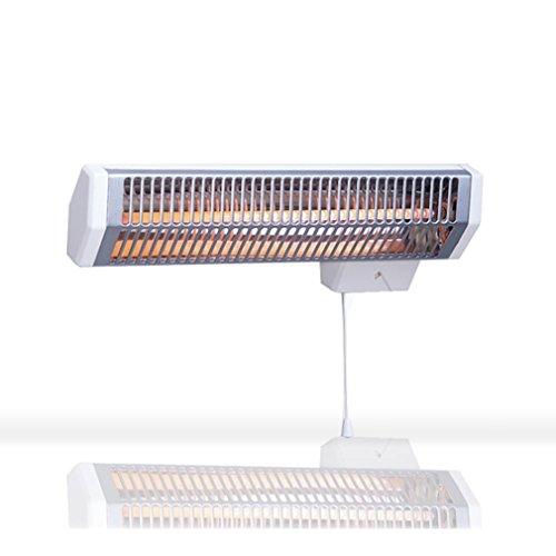 chauffage infrarouge applimo quartz2 600 watts avec minuterie