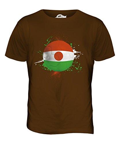 CandyMix Niger Fußball Herren T Shirt Braun