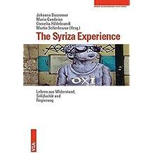 The Syriza Experience: Lehren aus Widerstand, Solidarität und Regierung