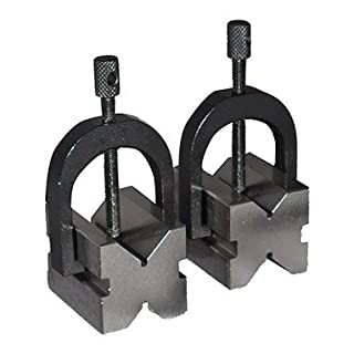 Precision V-Block Clamp Set