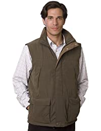 VEDONEIRE Mens GREEN Padded Gilet (3001) bodywarmer body warmer vest