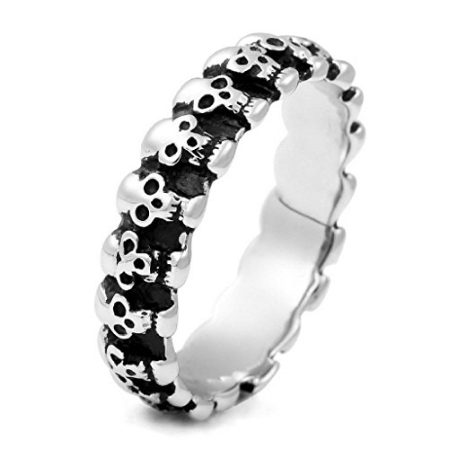 epinkifashion-jewelry-mens-stainless-steel-rings-band-silver-black-skulls-gothic-biker-size-r-1-2
