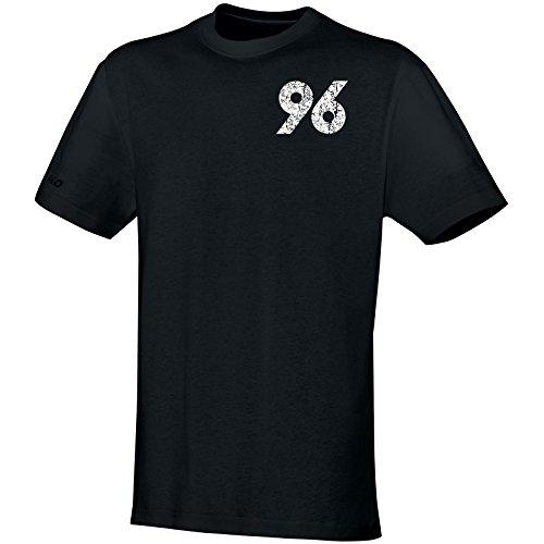 Jako Hannover 96 T-Shirt Replika 2016/2017 schwarz schwarz, XL