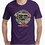 Positivos Camisetas Retro Nintendo Gansta - M