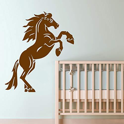 Zaosan Moderne Pferdewandaufkleber Tierliebhaber Wohnaccessoires Wohnaccessoires abnehmbare dekorative Wandtattoos