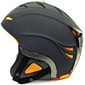 NAVIGATOR N06-RAV-SW-XS, NAVIGATOR RAVEN, ski helmet, snowboard helmet, BLACK, Size XS (Sports & Outdoors)