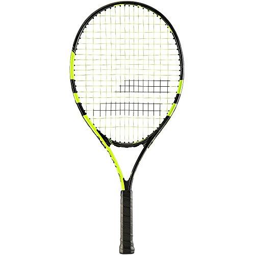 Schläger Junior Tennis (Babolat Tennisschläger Nadal Junior 25, schwarz, 0, 140180-142)
