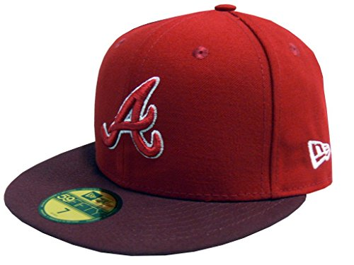 Atlanta Braves World Series Champions (NEW ERA Baseball Cap 59FIFTY Atlanta Braves GER MLB two tone otc Gr. 7 1/8)