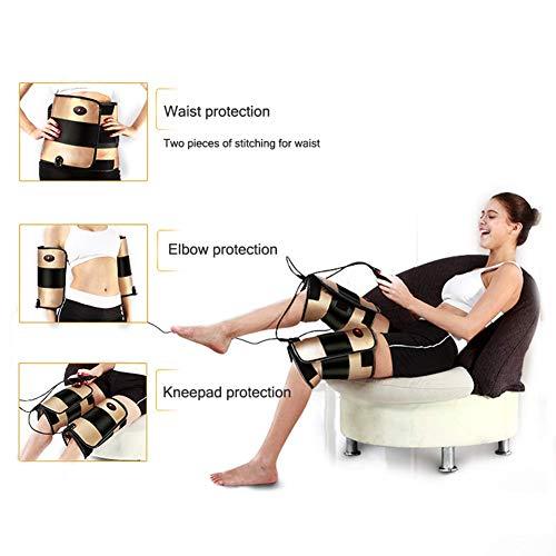 ZFAZF Knie Massageeinrichtungen, Knieverletzung Cramps Erholung mit Heizung Und Vibrationsfunktion für Knie/Oberschenkel/Kalb/Arm/Taille/Hüfte