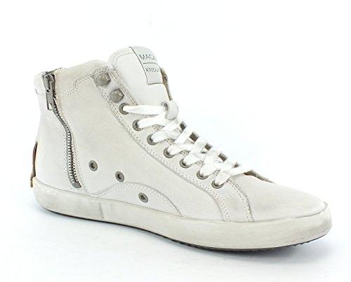 7186 MACA Kitzbühel Leder Sneaker white White
