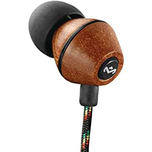 House of Marley People Get Ready In-Ear Headphones with 3 Button Mic - Midnight