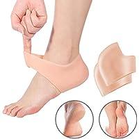 yotown Silikon Gel Ferse Ärmel, 1Paar Feuchtigkeitsspendende Socken Ferse Schützen Dry gebrochenen Fuß Ärmel... preisvergleich bei billige-tabletten.eu