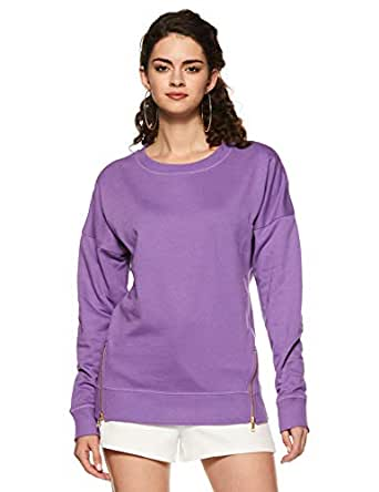 Marks & Spencer Women's Sweatshirt (3911K_Amethyst_6)