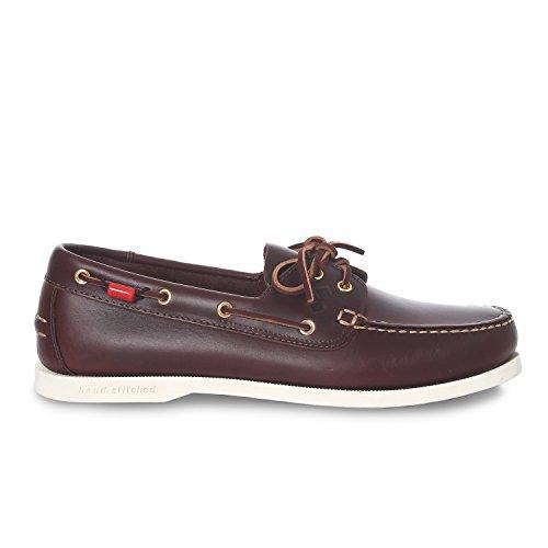 Slam Shoe Prince Evo Scarpa da Barca in cuoi Suola Antiscivolo (45)