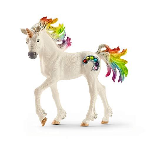 Schleich - Unicornio arcoíris, Potro (70525)