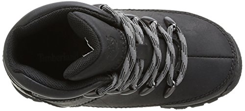 Timberland Euro Sprint  Boys Boots  Black  Black Smooth With Grey   3 UK  35 5 EU