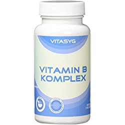 Vitasyg Vitamin B Komplex - 365 Tabletten (Jahresvorrat), 1er Pack (1 x 146 g)
