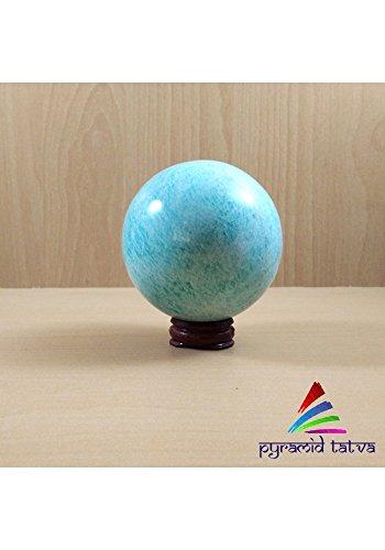 Pre Christmas Sale ! Amazonit Ball natur Edelstein Ball Aura Balancing metaphysisch für hilft Sie Kommunizieren Wahrheit mit Balance & Integrität Größe - 1,5 bis 5,1 cm gratis
