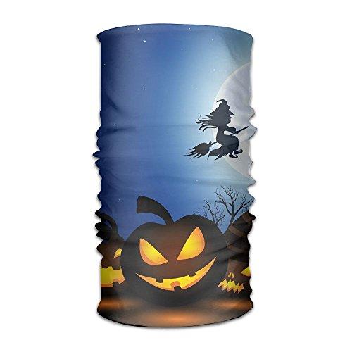 Pengyong Spooky Halloween Unisex Fashion schnelltrocknend Mikrofaser Kopfschmuck Outdoor Magic Schal Hals Hals Schal Kapuzen Schal Super Soft Griff