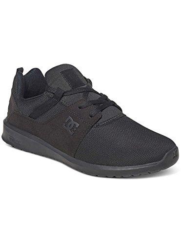 DC HEATHROW M sneakers uomo Nero Calidad Superior De La Venta 8AFBJaFl