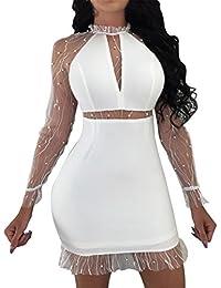 Amazon.it  vestiti donna eleganti da cerimonia lunghi - Includi non ... ba98b040238