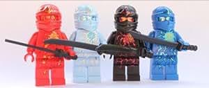 LEGO® Ninjago 4 NRG Ninjas - Kai, Cole, Jay & Zane