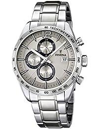 Festina Herren-Armbanduhr XL Chronograph Quarz Edelstahl F16759/2