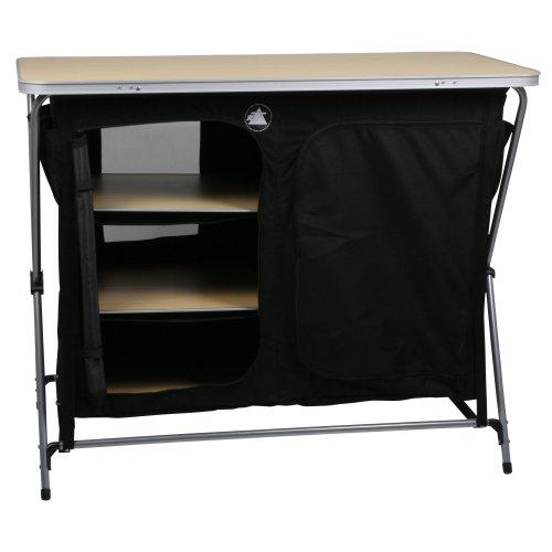 41t1Nop8N4L. SS500  - 10T Flapbox - Camping cupboard, 6 draws + top storage box, foldable steel frame, 53x110x90 cm