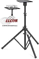 Projector Floor Stand 4ft - 6ft Adjsutable with Grip Belt