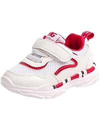 808dfd2888b ZODOF Niño pequeño Bebé Niños Niñas Niños Zapatillas de Deporte Casuales  Malla Zapatillas de Deporte Zapatos