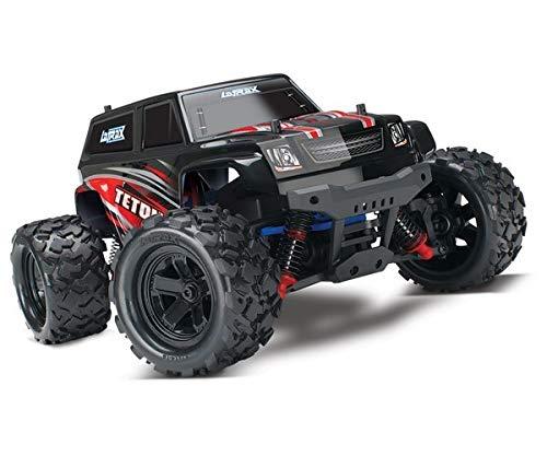 Traxxas 76054-1 LaTrax Teton Monster 1:18 4WD RTR 2,4GHz *wasserfest* rot