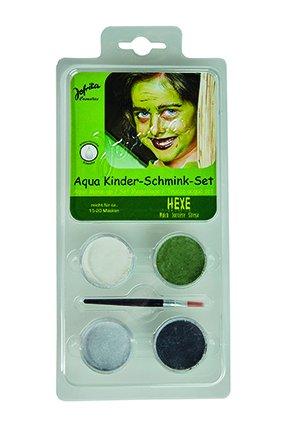 Schminkset Hexe Hexenschminkset für Hexen Makeup Schminke Halloween Karneval ()