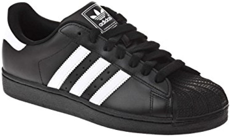 adidas  noir, 's superstar ii formateurs noir,  noir / blanc 12 46dc91