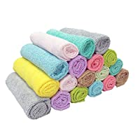 Ezee Multipurpose Microfiber Cleaning Cloth - 12 x 12 inches (Pack of 18)