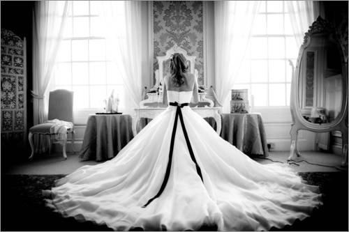 Acrylglasbild 60 x 40 cm: Wedding images, United Kingdom, Europe von John Alexander / Robert (Tracht Von Großbritannien)