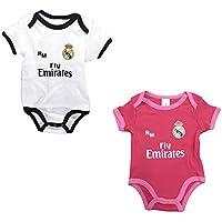 Set 2 Body Real Madrid Niños - Producto Oficial - Temporada 2018 2019 -  Primera f3ac4522105ec