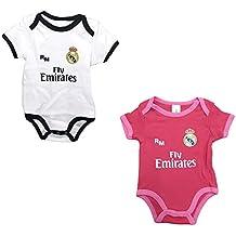 16b5850a1 Set 2 Body Real Madrid Niños - Producto Oficial - Temporada 2018 2019 -  Primera