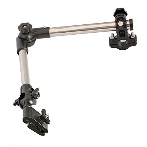 broadroot Fahrrad Regenschirm Stecker Buggy Halterung Flexible Rollstuhl Kinderwagen Drehgelenk für Fahrräder jeder Winkel einstellbar