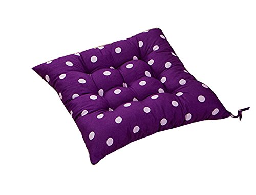 Fanxing New Fashion Durable Polka Dot Chair Cushion Garden Dining Home Office Seat Soft Pad