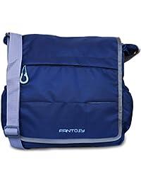 Fantosy Men Blue Polyester Sidebag