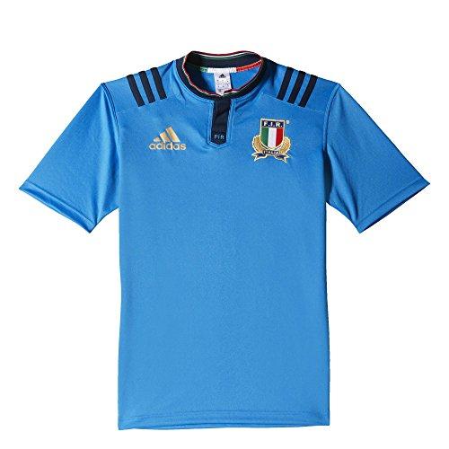 Adidas fir h jsy maglia da uomo, blu/oro (azubri/maruni/dormat), m