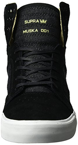Supra Herren Skytop Sneaker Schwarz (Black-White)