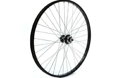 Tru-build Wheels RGR803 Rear Disc Wheel - Black, 24 x 1.75 Inch