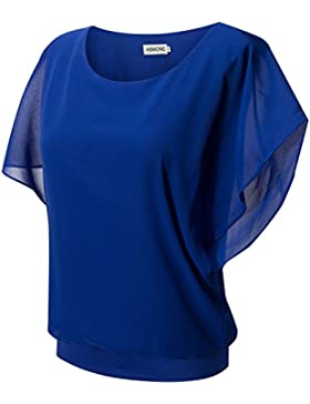 HIMONE - Camisas - Básico - Cuello redondo - para mujer