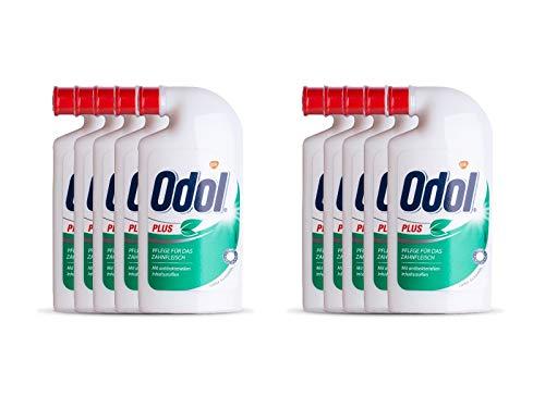 10x Odol Plus Mundspülung Konzentrat 125 ml