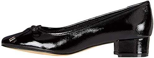 Amazon-Marke: find. Mini Heel Leather Ballet Damen Pumps