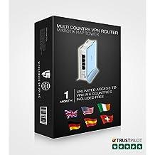 Pre configured Multi Country VPN Router–Lite, [Importazione da Regno Unito]