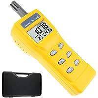 Portátil Digital dióxido de carbono Temperatura Humedad Interior 9999ppm ...