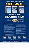 Best Window Insulation Kits - Insulating Film for Windows, Transparent Glazing Film 4.5m2 Review