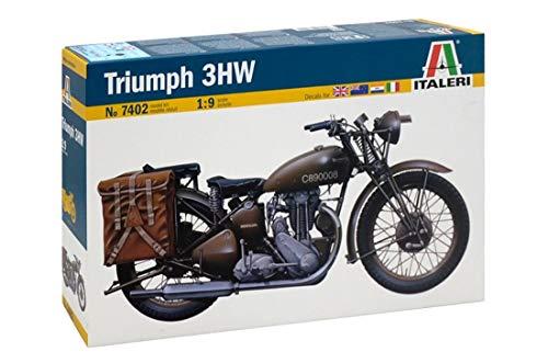 Italeri 7402 - triumph 3wh model kit  scala 1:9